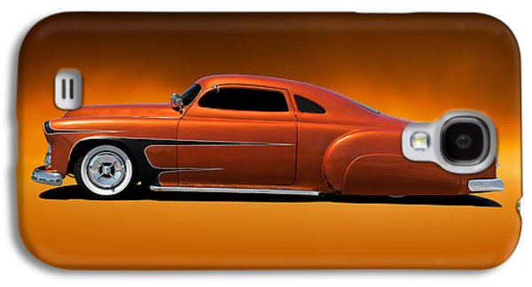 Slam Galaxy S4 Cases - 1951 Chevrolet Fifties Style Kustom Galaxy S4 Case by Dave Koontz
