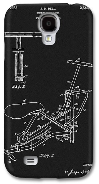 1953 Exercise Apparatus Patent Galaxy S4 Case by Dan Sproul