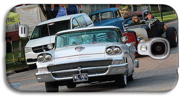4th July Galaxy S4 Cases - 1958 Ford Fairlane Galaxy S4 Case by R A W M