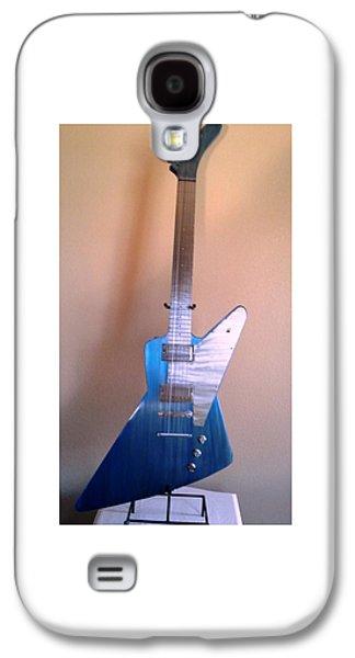 Celebrities Sculptures Galaxy S4 Cases - 1960 Blue Explorer Galaxy S4 Case by Jay Schaan