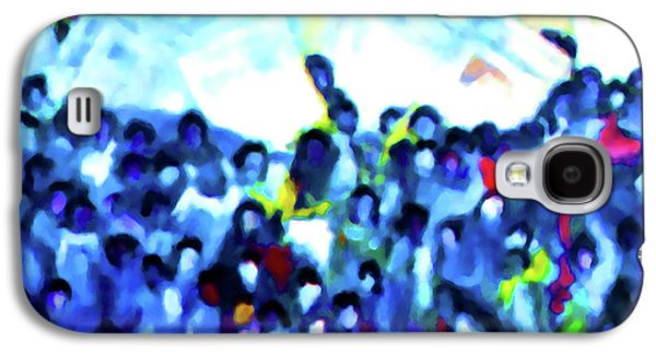 Discrimination Paintings Galaxy S4 Cases - 1963 March on Washington Galaxy S4 Case by Lanjee Chee