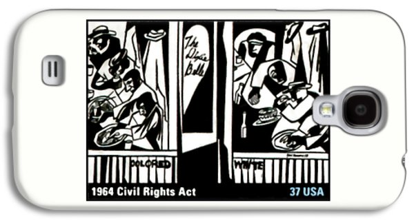 Discrimination Paintings Galaxy S4 Cases - 1964 Civil Rights Act Galaxy S4 Case by Lanjee Chee