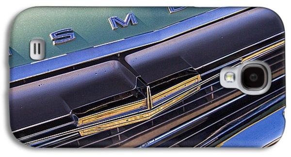 1964 Oldsmobile Jetstar Hood Ornament Galaxy S4 Case by Nick Gray