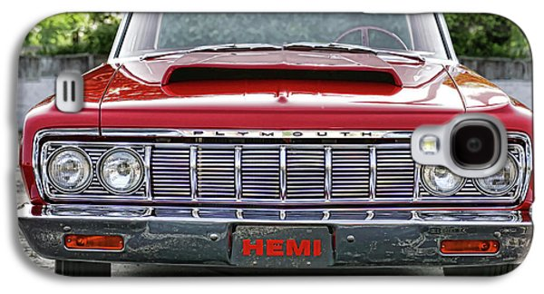 1969 Dodge Charger Stock Car Galaxy S4 Cases - 1964 Plymouth Savoy Hemi  Galaxy S4 Case by Gordon Dean II