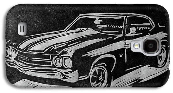 1970 Chevelle Galaxy S4 Case by Alisha Floy