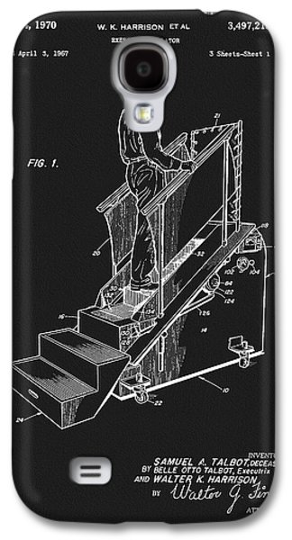 1970 Exercise Machine Patent Galaxy S4 Case by Dan Sproul