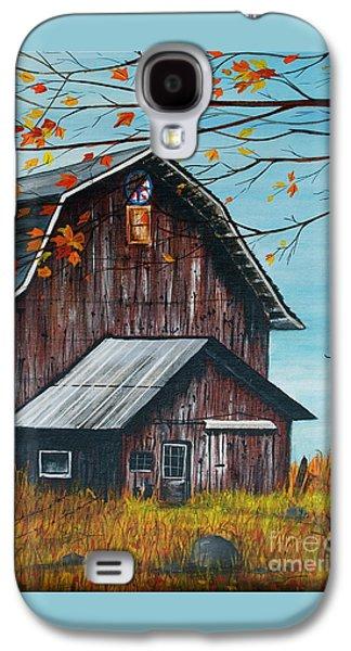 1980 Barn Galaxy S4 Case by Linda Simon