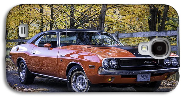 1970 Dodge Challenger Rt  Galaxy S4 Case by Thomas Schoeller