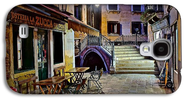 An Evening In Venice Galaxy S4 Case by Frozen in Time Fine Art Photography