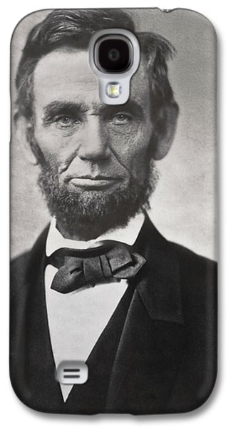Recently Sold -  - Slavery Galaxy S4 Cases - ABRAHAM LINCOLN - 16th U S PRESIDENT Galaxy S4 Case by Daniel Hagerman