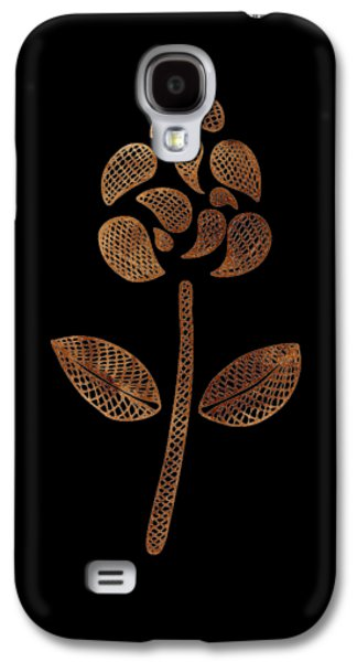 Abstract Flower Galaxy S4 Case by Frank Tschakert