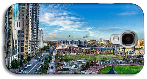 Aerial View Of Romare Bearden Park In Downtown Charlotte North C Galaxy S4 Case by Alexandr Grichenko