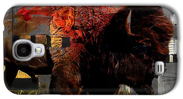 American Buffalo Collection Galaxy S4 Case by Marvin Blaine