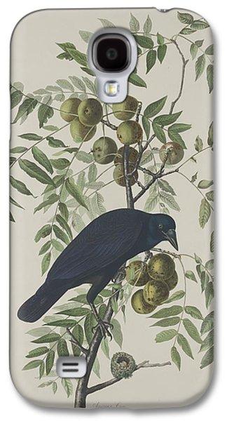 American Crow Galaxy S4 Case by John James Audubon