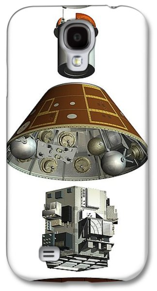Component Photographs Galaxy S4 Cases - Ard Capsule, Artwork Galaxy S4 Case by David Ducros