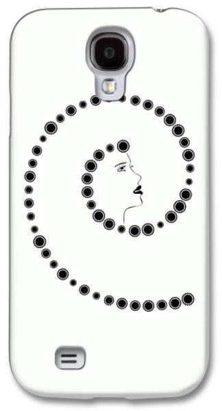 Art Nouveau Design Galaxy S4 Case by Frank Tschakert