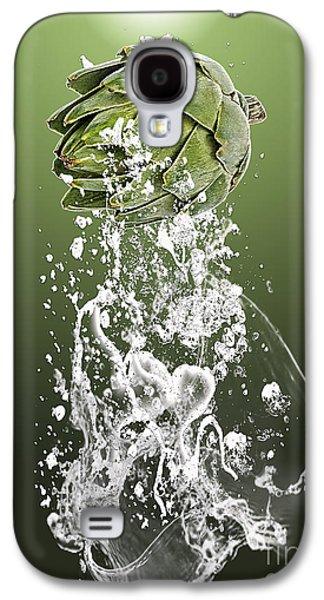 Artichoke Splash Galaxy S4 Case by Marvin Blaine