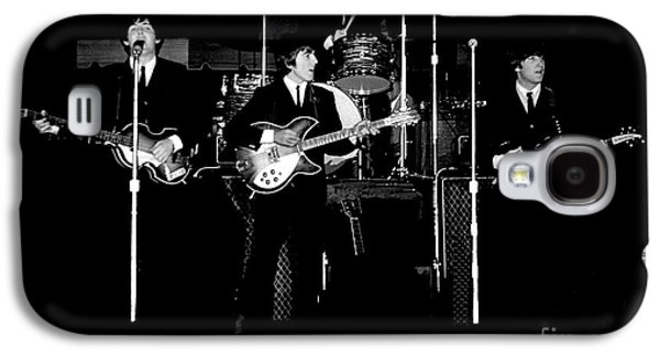 Beatles Galaxy S4 Cases - Beatles In Concert 1964 Galaxy S4 Case by Larry Mulvehill