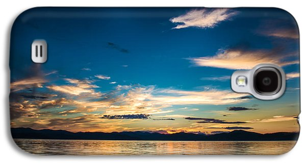 Nature Abstract Galaxy S4 Cases - Beautiful sunset on pacific ocean - HDR Galaxy S4 Case by Daniil Belyay