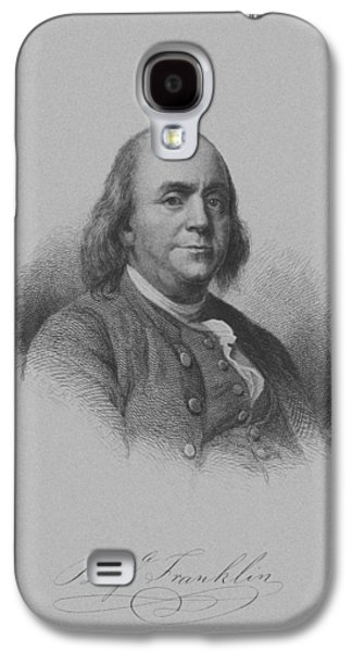 Benjamin Franklin Galaxy S4 Case by War Is Hell Store