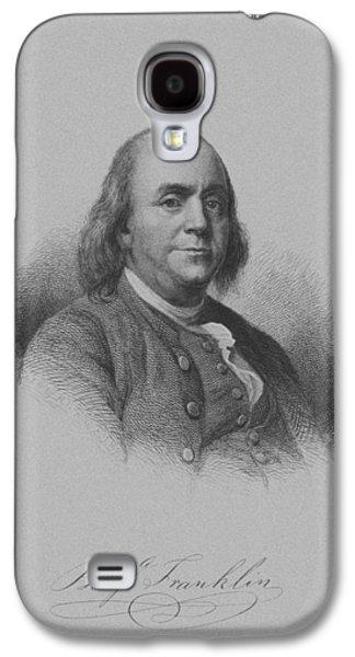 Benjamin Franklin Galaxy S4 Case by War Is Hell Store