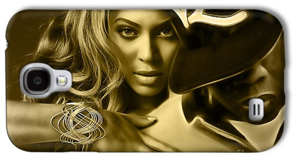 Beyonce Jay Z Collection Galaxy S4 Case by Marvin Blaine