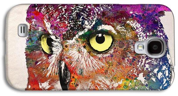 Animation Galaxy S4 Cases - Birds Galaxy S4 Case by Mark Ashkenazi
