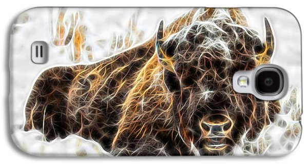 Bison Collection Galaxy S4 Case by Marvin Blaine