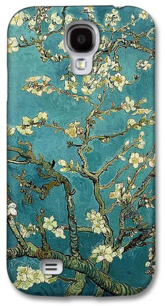 Vincent Van Gogh Galaxy S4 Cases - Blossoming Almond Tree Galaxy S4 Case by Vincent Van Gogh