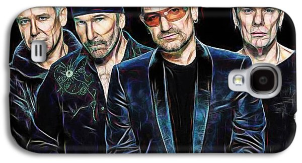 Bono U2 Collection Galaxy S4 Case by Marvin Blaine