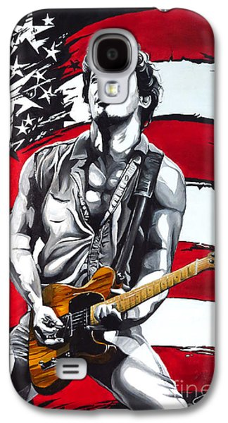 Bruce Springsteen Galaxy S4 Case by Francesca Agostini