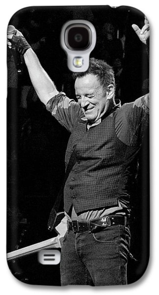 Bruce Springsteen Photographs Galaxy S4 Cases - Bruce Springsteen Galaxy S4 Case by Jeff Ross