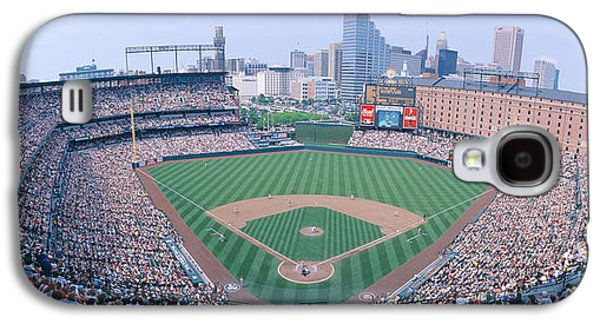 Sports Photographs Galaxy S4 Cases - Camden Yard Stadium, Baltimore, Orioles Galaxy S4 Case by Panoramic Images