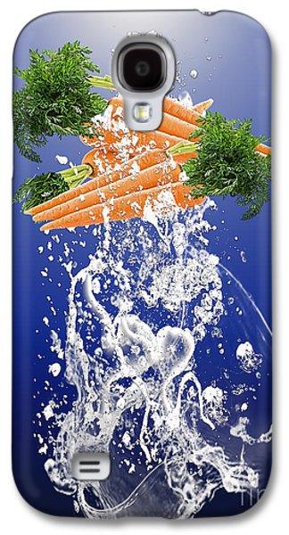 Carrot Splash Galaxy S4 Case by Marvin Blaine
