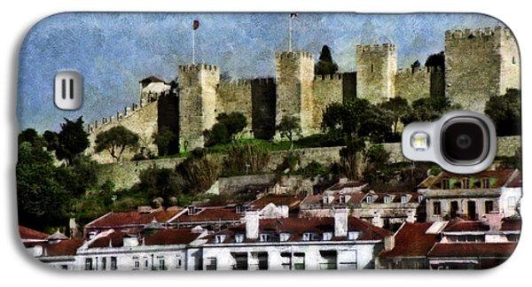 Portuguese Mixed Media Galaxy S4 Cases - Castle of St. George Galaxy S4 Case by Dariusz Gudowicz