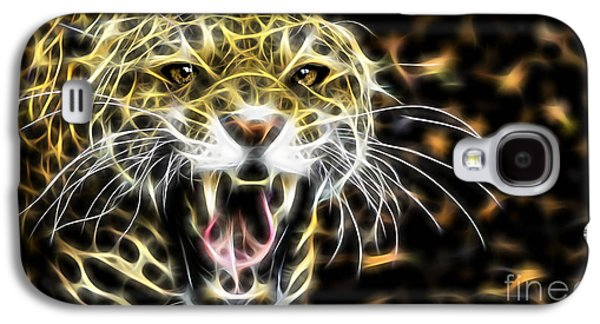 Cheetah Collection Galaxy S4 Case by Marvin Blaine