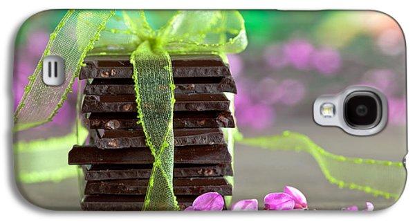 Ties Galaxy S4 Cases - Chocolate Galaxy S4 Case by Nailia Schwarz