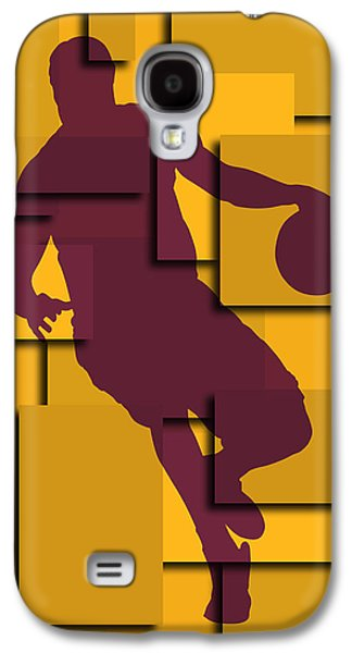 Cleveland Cavaliers Lebron James Galaxy S4 Case by Joe Hamilton