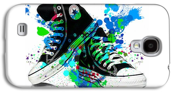 Converse All Stars Galaxy S4 Case by Marvin Blaine