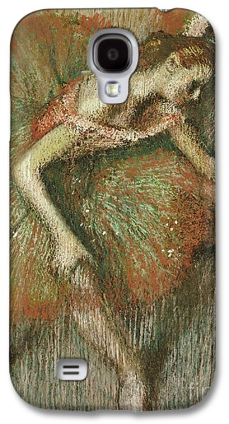 Tutus Paintings Galaxy S4 Cases - Dancers Galaxy S4 Case by Edgar Degas