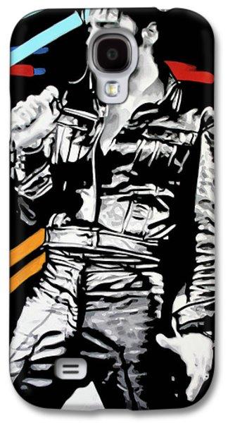 Elvis Galaxy S4 Case by Luis Ludzska