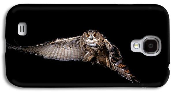 European Eagle Owl Bubo Bubo Galaxy S4 Case by Gerard Lacz