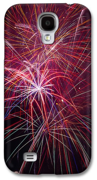 Fireworks Exploding Galaxy S4 Case by Garry Gay