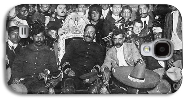 Seated Galaxy S4 Cases - Francisco Pancho Villa Galaxy S4 Case by Granger