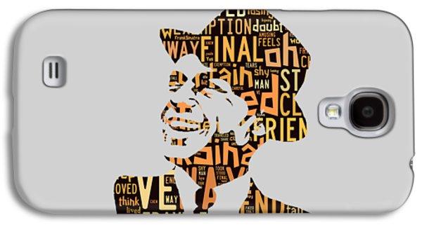 Frank Sinatra I Did It My Way Galaxy S4 Case by Marvin Blaine
