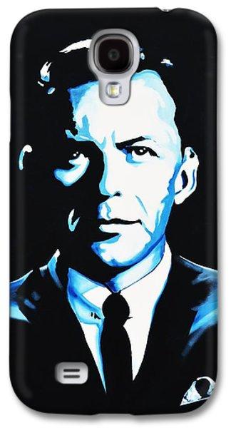 Frank Sinatra Paintings Galaxy S4 Cases - Frank Sinatra Galaxy S4 Case by Richard Garnham