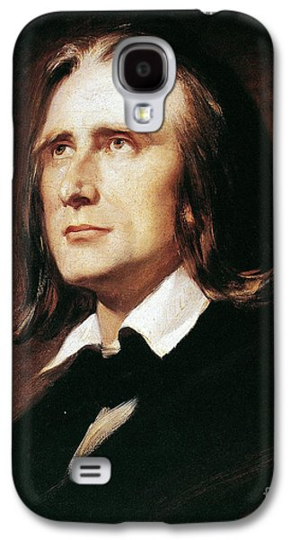 Pianist Photographs Galaxy S4 Cases - Franz Liszt (1811-1886) Galaxy S4 Case by Granger