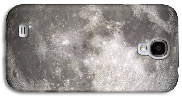 No People Photographs Galaxy S4 Cases - Full Moon Galaxy S4 Case by Stocktrek Images