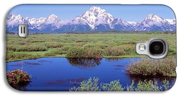 Grand Teton Park, Wyoming, Usa Galaxy S4 Case by Panoramic Images