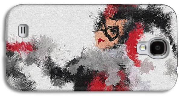 Character Portraits Paintings Galaxy S4 Cases - Harley Quinn Galaxy S4 Case by Miranda Sether